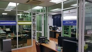 Offices of Corporate services trust. Our employees provide personalized service to clients from the whole world from here.